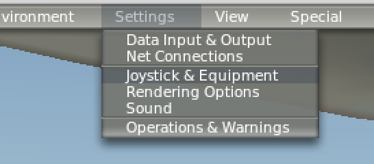 xp10 keyboard menu
